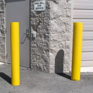 140MM STEEL INGROUND ROUND BOLLARD