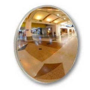 500MM LIGHT WEIGHT STAINLESS STEEL CONVEX SAFETY MIRROR