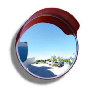 450MM OUTDOOR CRYSTAL VIEW CONVEX SAFETY MIRROR