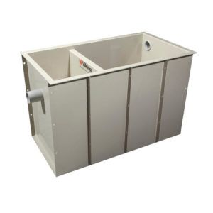 100 LITRE VIKING BELOW GROUND DOMESTIC GREASE TRAP
