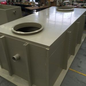 9000 LITRE VIKING PT BELOW GROUND GREASE TRAP