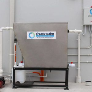 2500 LITRE CLEANAWATER SS OIL WATER SEPARATOR